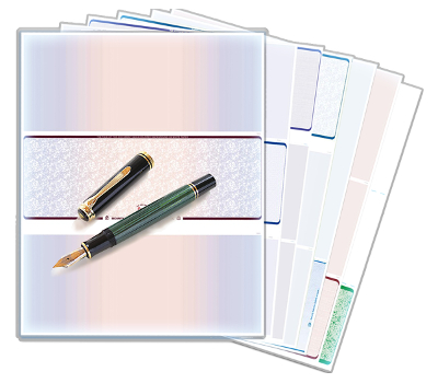 Laser Checks and Software Compatible Forms